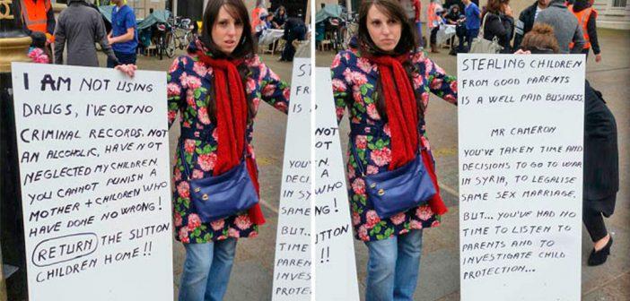 """Coșmarul unei mame românce în UK: """"Mi-au furat toți copiii!"""""""