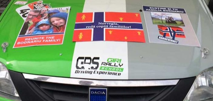Piloți participanți la raliul din Sibiu s-au solidarizat cu familia Bodnariu